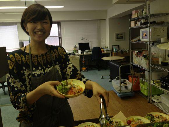 京都ではてなまかないランチを食べてる