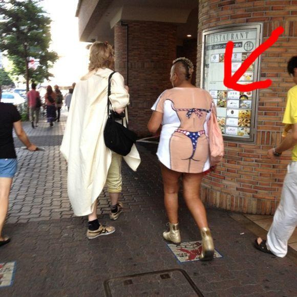 あり得ないファッション